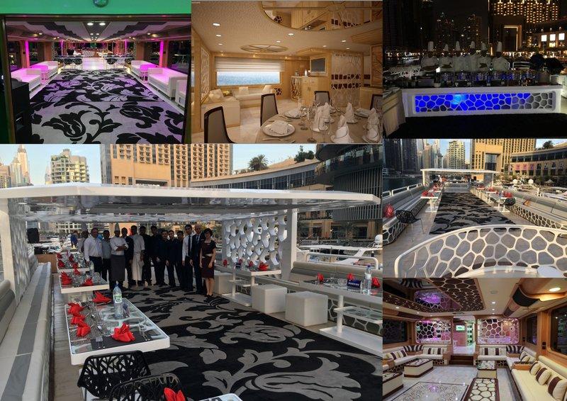 Asfar Yacht Desert Rose 155ft Dubai Yachts Rent A Yacht